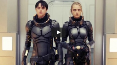 Валериан и город тысячи планет (Valerian and the City of a Thousand Planets) 2017. Трейлер на русском.