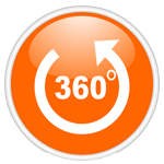 Панорамное видео 360°